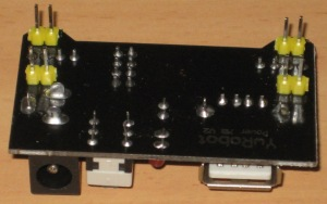 Underside showing output pins